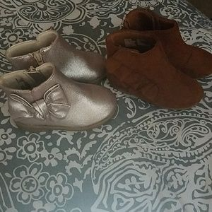 2 pair nwt boots